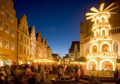 Weihnachtsmarkt in Osnabrück erleben